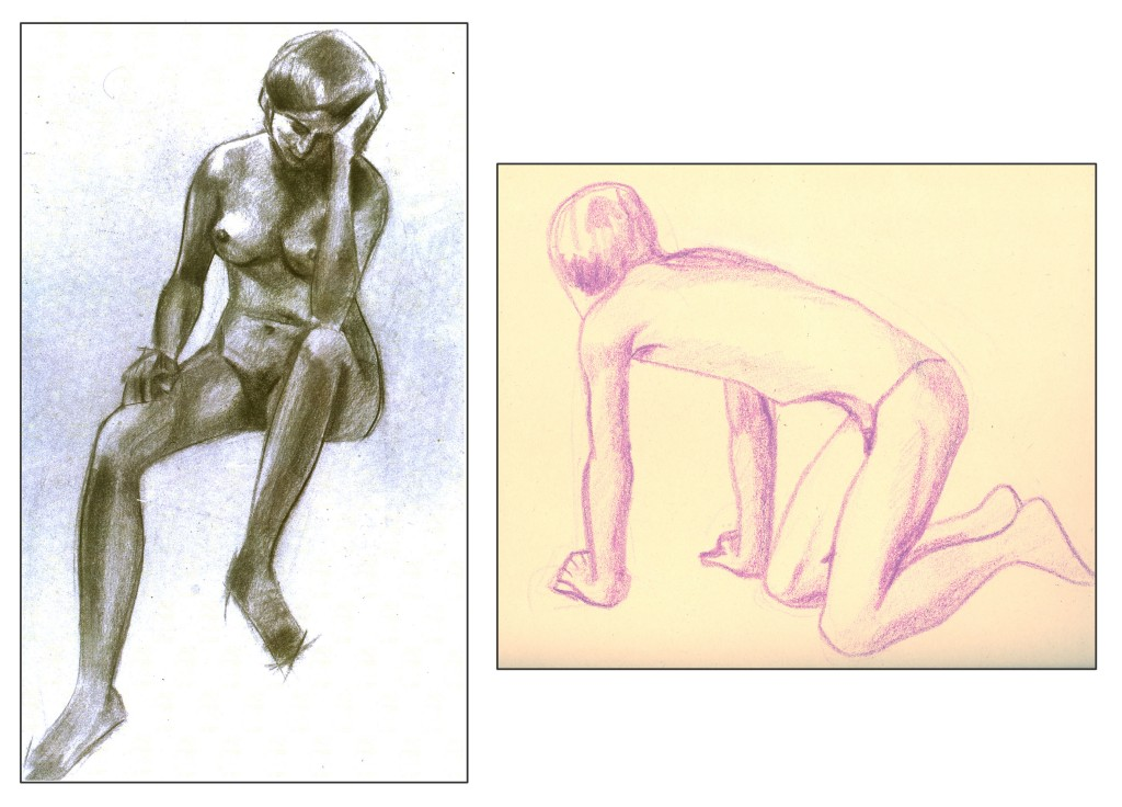 A couple of my life drawings