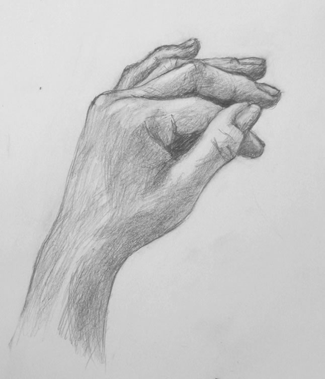 Sketches Of Fingers