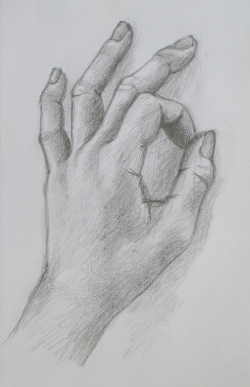 Hand Drawing Demo #6 Reviewing Left Brain/Right Brain U00ab Portrait Artist From Westchester NY ...