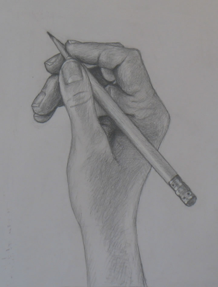pencil drawing of a pencil. hand drawing tutorials / demos « portrait artist from westchester, ny \u2013 anne bobroff-hajal | art education pinterest drawings, drawings and pencil of a i