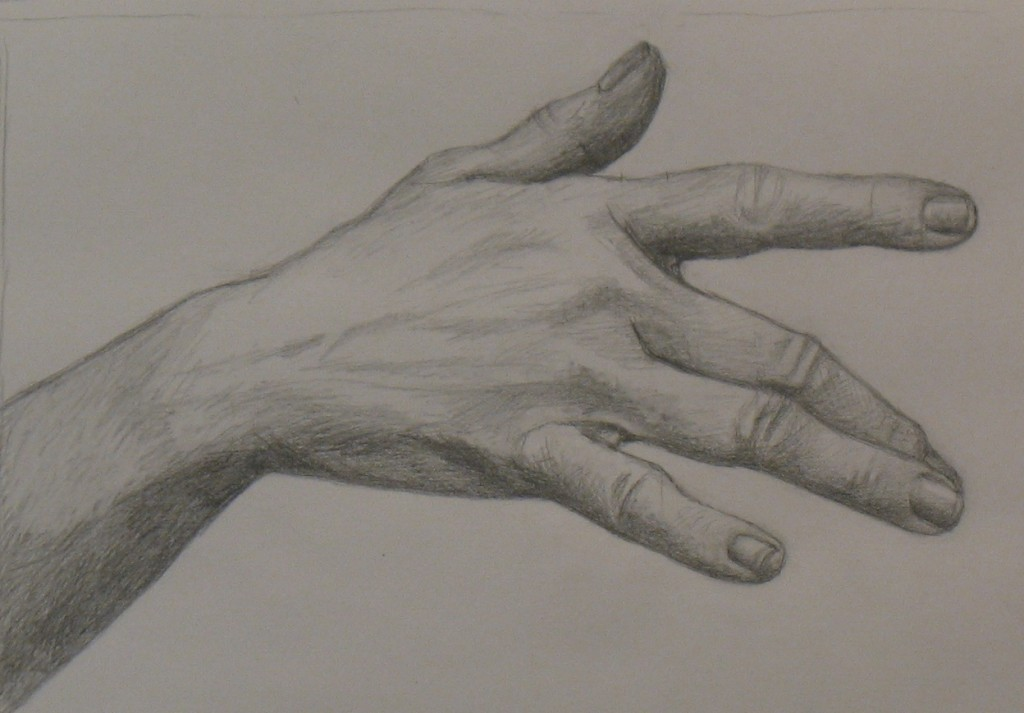 Hand drawing pictures