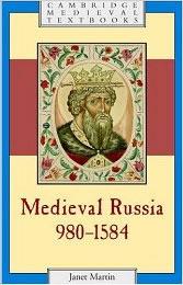 Martin, Medieval Russia book cover